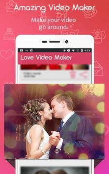 Love Slideshow  Video Maker apk screenshot