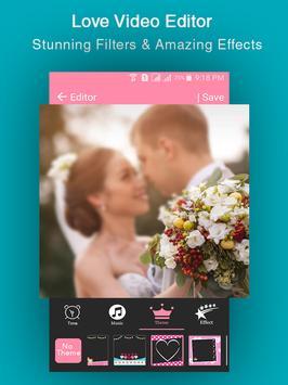 Love Slideshow  Video Maker poster