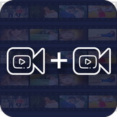 Video merger for android icon