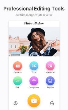 محرر الفيديو / صانع الفيديو والصور والموسيقى والقص تصوير الشاشة 9