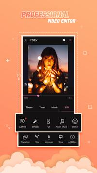 Video Editor Effects, Video Slideshow With Music poster