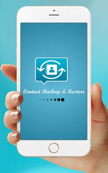 Easy Contact Backup & Restore poster
