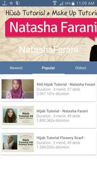 Video Hijab by Natasha Farani apk screenshot