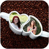 Coffee Cup Photo Frame icon