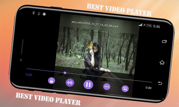 Best Video Player apk screenshot