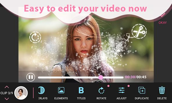 Video Editor & Video Maker, Make Video From Photos poster