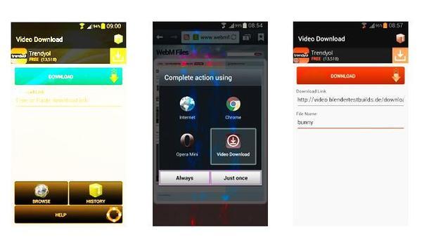 HD Video FREE Downloader apk screenshot