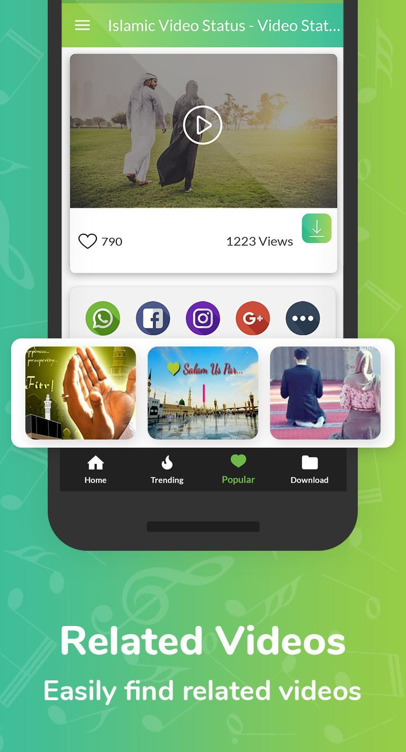 Islamic Video Status - Video Status For Whatsapp for Android