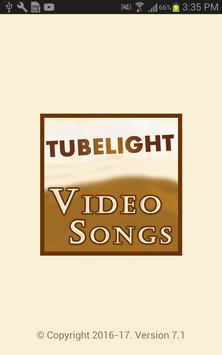 Video Songs of Tubelight Movie 2017 poster