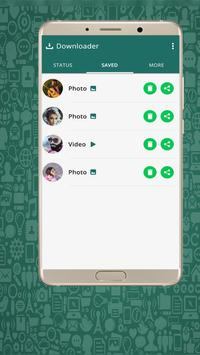 Video Status Downloader For Whatsap poster