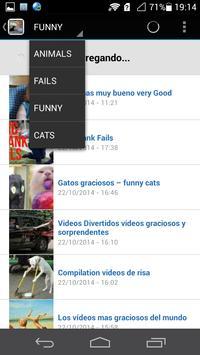 Videos de risa apk screenshot