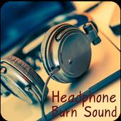 Headphone Burn Sound icon