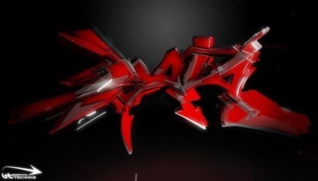 3D Graffiti For Art 2018 screenshot 3