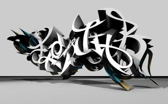 3D Graffiti For Art 2018 screenshot 4