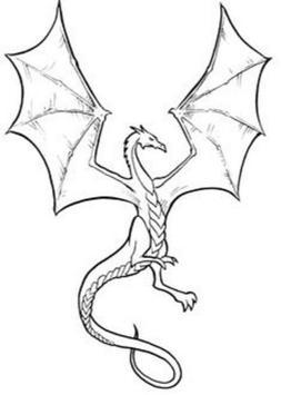 Draw Dragons Art 2018 screenshot 1
