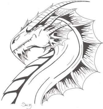 Draw Dragons Art 2018 screenshot 5