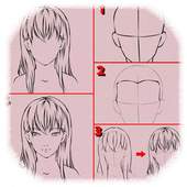 Tutorial Easy Drawing Anime icon