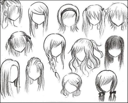 Tutorial Easy Drawing Anime apk screenshot