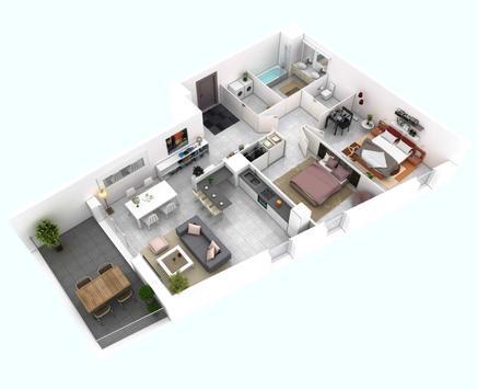 Minimalist Home Planner 3D screenshot 4