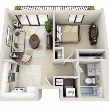 Minimalist Home Planner 3D screenshot 2