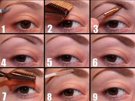 Tutorials Eyebrow Makeup apk screenshot