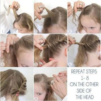 Hairstyles Cute Little Girl poster
