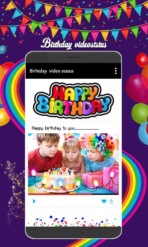 Name On Birthday Cake Video Status For Android Apk Download