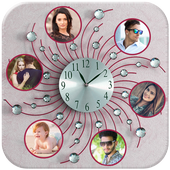Clock Photo Collage icon