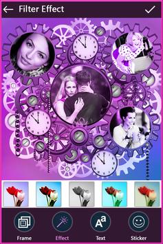 Clock Photo Collage screenshot 1