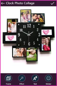 Clock Photo Collage screenshot 2