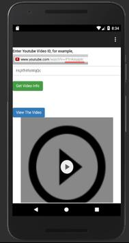 Video Player for Youtube poster