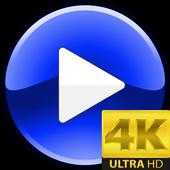 Video Player 4K Ultra HD icon