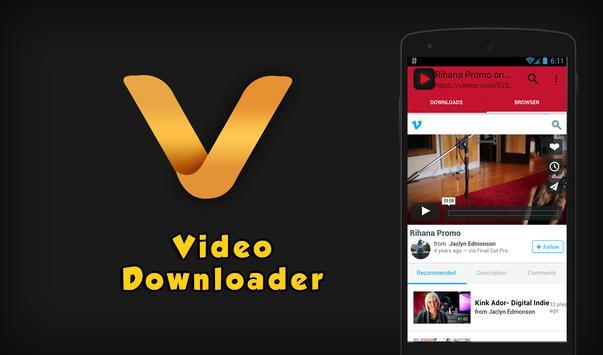 free download video downloader screenshot 1