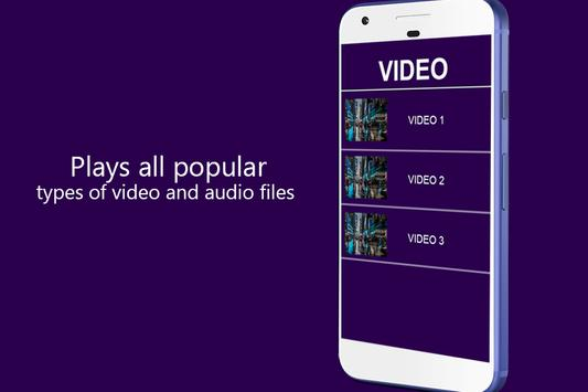 4K Full HD Video Player apk screenshot