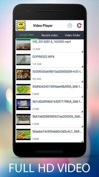 Video Player Full HD screenshot 1