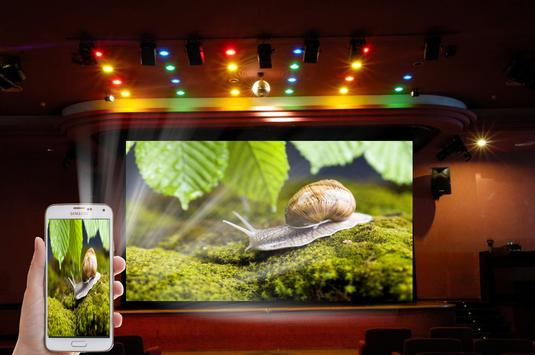 Real Video Projector HD Prank poster