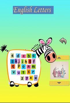 تعليم الحروف الانجليزية فيديو بدون نت poster