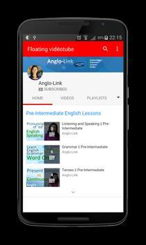 Floating Videos Tube Player apk screenshot