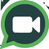 Video Calling Whatssap prank icon