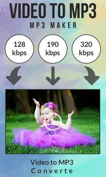 Video to MP3 : MP3 Maker screenshot 1