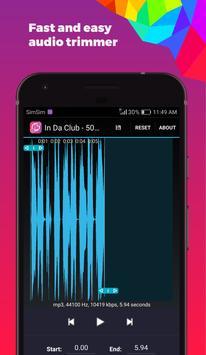 Video to Mp3 Converter, Trim Audio, Record Screen screenshot 1