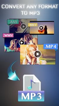 Easy Video to mp3 converter poster