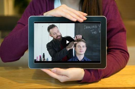 آرایش مدرن موی مردانه poster