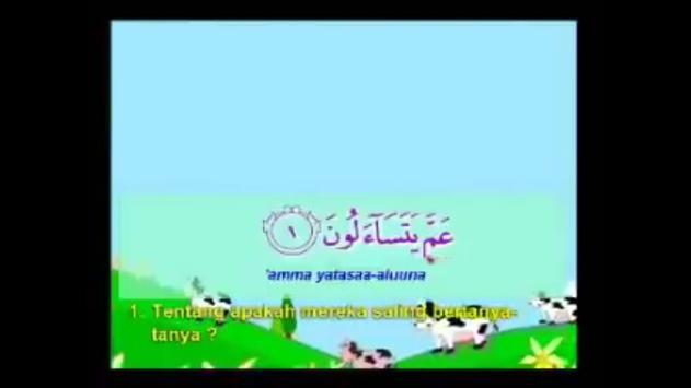 Kumpulan Juz Amma For Kids apk screenshot