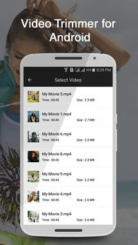 Video Trimmer for Android apk screenshot