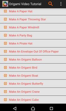 Origami Video Tutorial screenshot 4