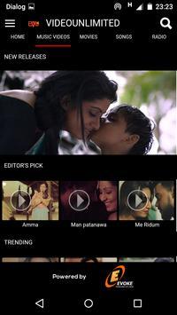 Evoke Video Unlimited demo apk screenshot