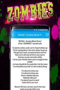 Ost. Zombies All songs lyrics and video screenshot 3
