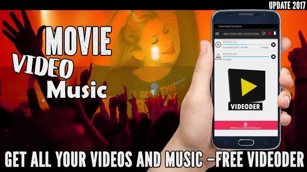 Free Videoder Video Downloader App Guide apk screenshot