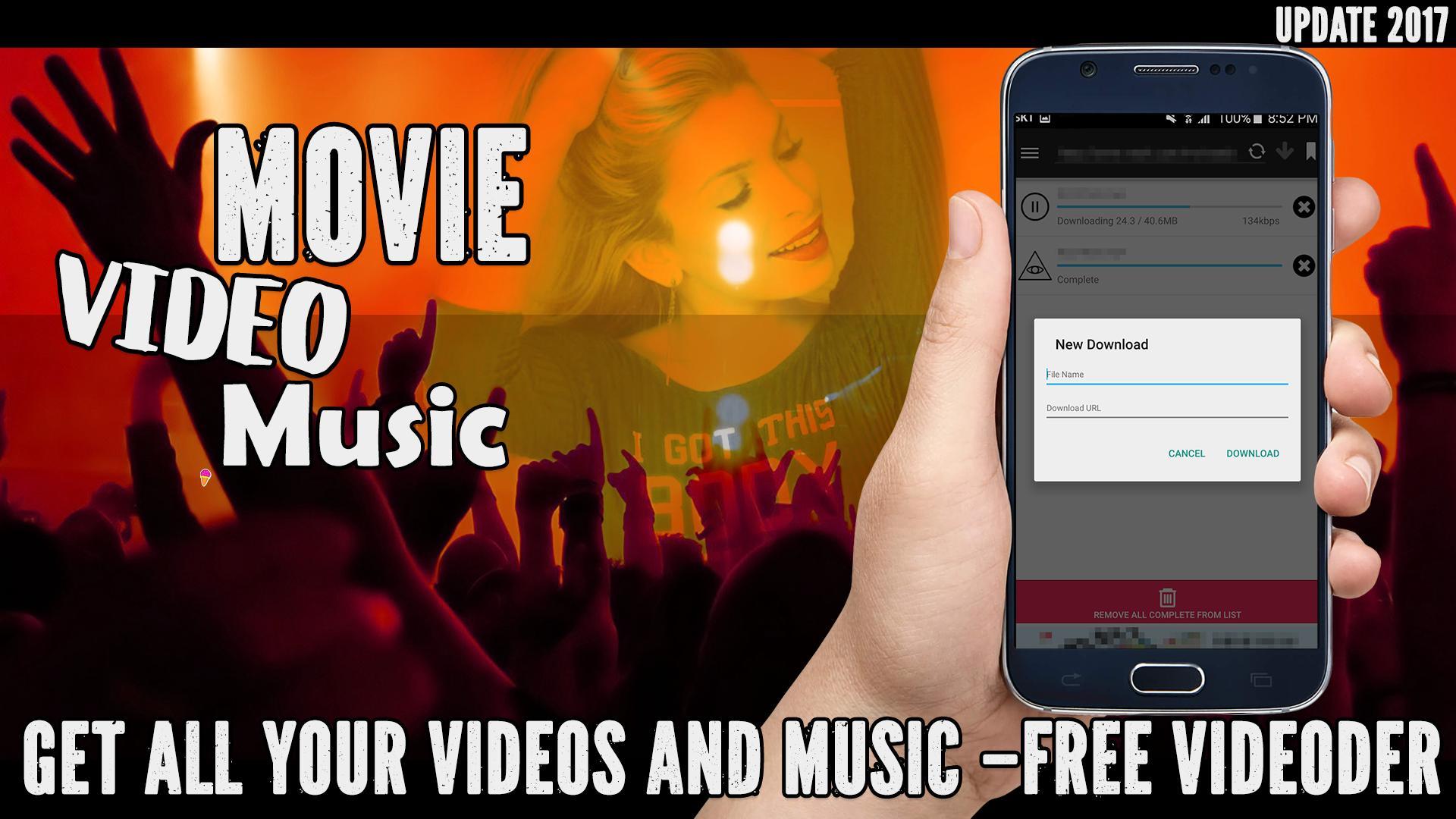 Free Videoder Video Downloader App Guide for Android - APK